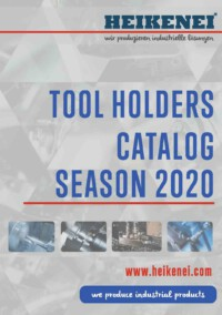 Heikenei Indexable Tool Holders Catalog 2020